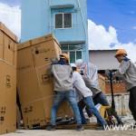 Vận chuyển thiết bị – Công trình Điện Lực Miền Nam